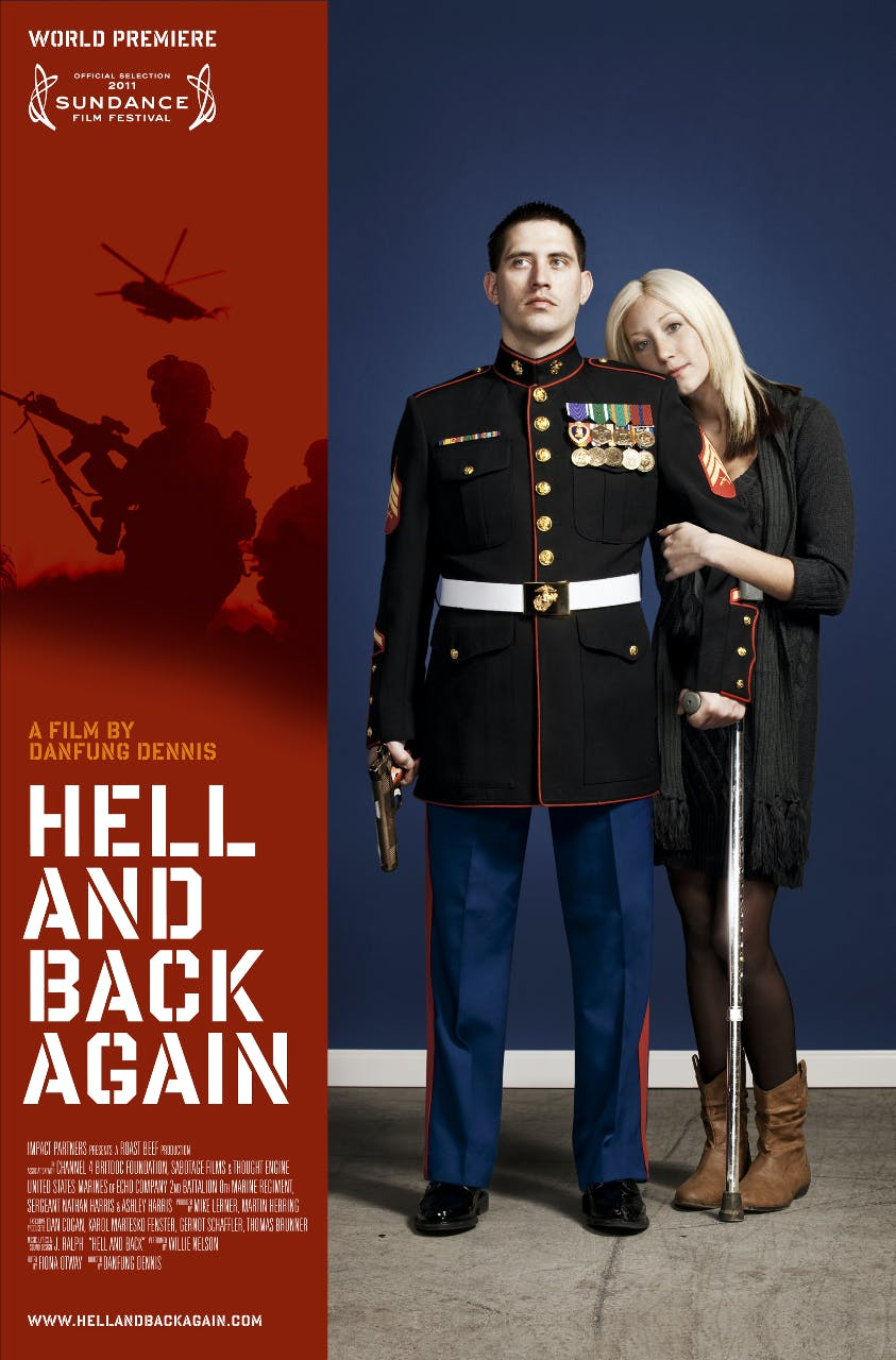 Photojournalist And Filmmaker Danfung Dennis Follows Marine Sgt Nathan Harris Into Combat In Afghanistan Then Back To The U S After Harris Is Severely