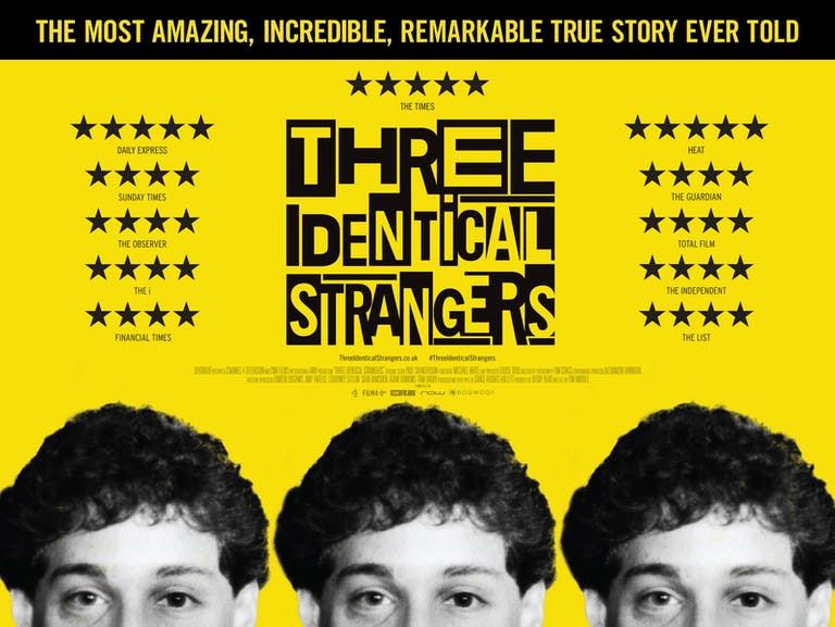 Three Identical Strangers · BIFA · British Independent Film Awards